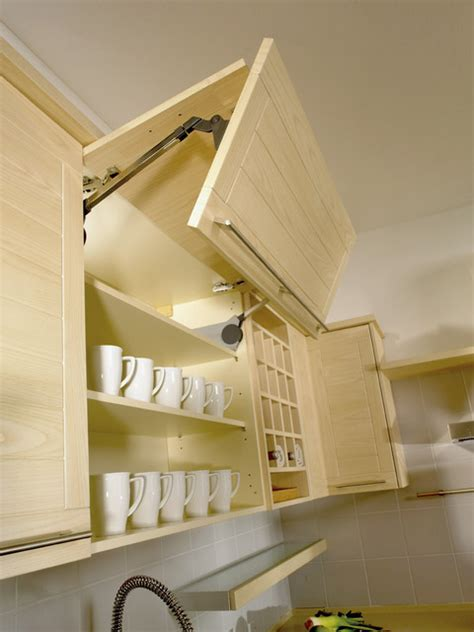 modern kitchen overhead cabinets vertical overhead cupboard with joint fold lift mechanism