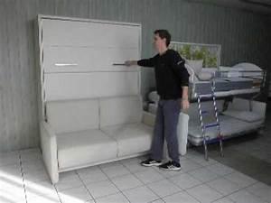 Schrankbett 160x200 Gebraucht : schrankbett wandbett mit sofa prestige youtube ~ Orissabook.com Haus und Dekorationen