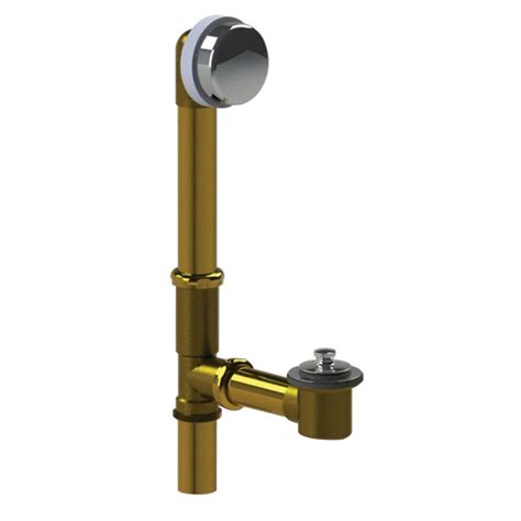 Bathtub Drain Stopper Removal Lift And Turn by Watco 598 Series 24 In Tubular Brass Bath Waste With Lift