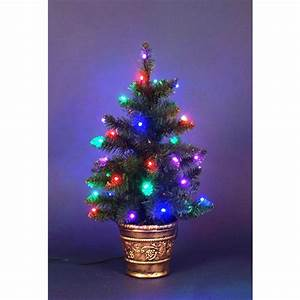 Albero Natale 40 LED colorati per interno 60cm 21068 NATALE LUCI E COLORI