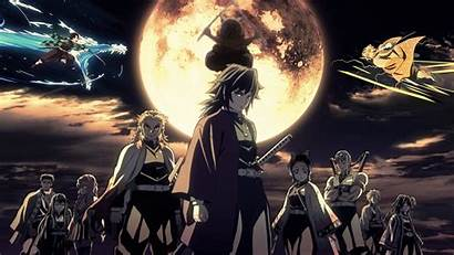 Slayer Demon Anime Wallpapers Kimetsu Yaiba Desktop