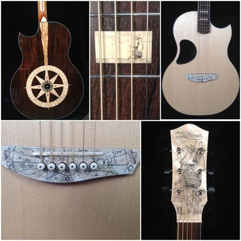 Nautical Themed Mcpherson Guitar, From Their Custom Shop