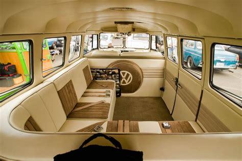 Sweet Custom Vw Bus Interior Just Cool Stuff Pinterest