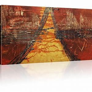 Abstrakte Bilder Leinwand : bilder abstrakte pyramide wandbilder auf leinwand kunstdruck ebay ~ Sanjose-hotels-ca.com Haus und Dekorationen