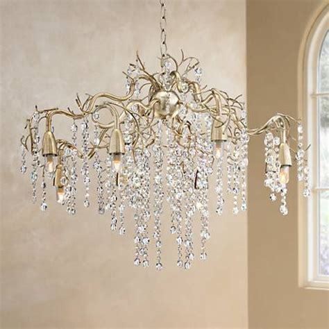 Possini Design Chandelier by Possini Branches 31 Quot Wide Silver Chagne Chandelier