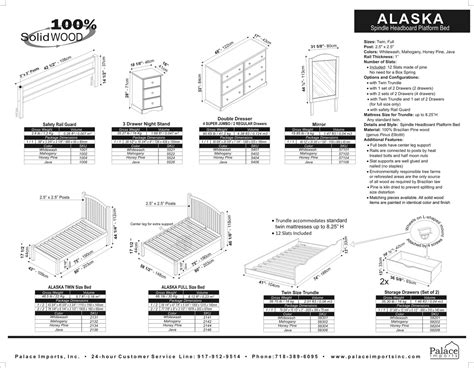 Permalink to Alaska King Size Bed Dimensions