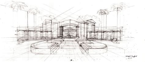 Architecture Sketch By Multiimage On Deviantart