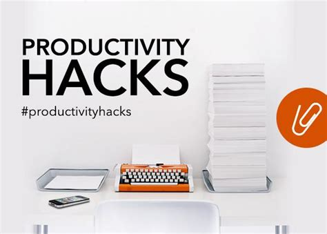 productivity hacks  influencers    work smarter
