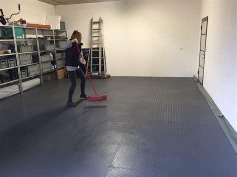 pvc fliesen garage garagenboden pvc premium grau werkstatt storewerkstatt store