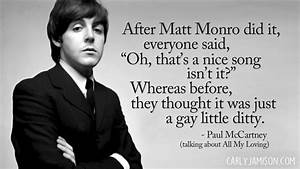 Duly Quoted: Pa... Paul Mccartney Quotes