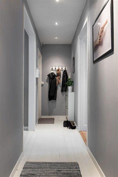 espace citadin au style industriel idee deco couloir