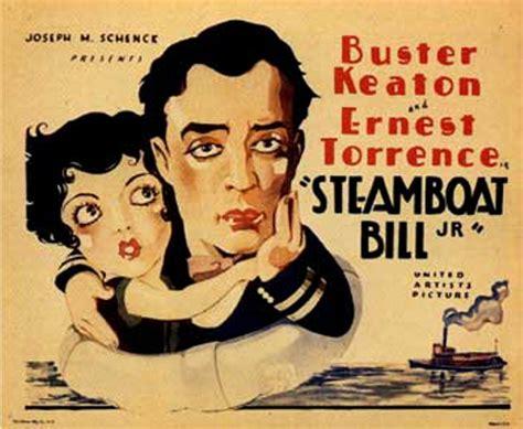 Steamboat Bill Jr by Arts Institute To Sponsor Silent Jan 31