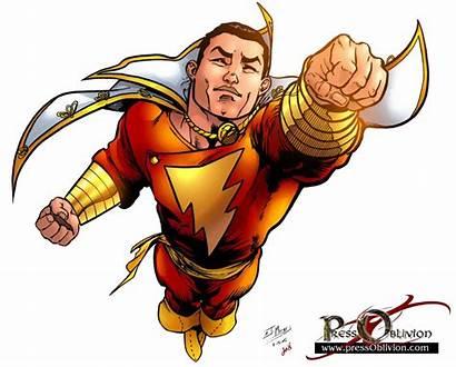 Shazam Comic Marvel Transparent Captain Comics Dc