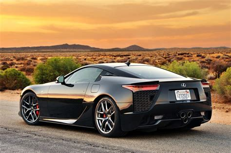 lfa lexus black tuned lexus lfa custom modified cars