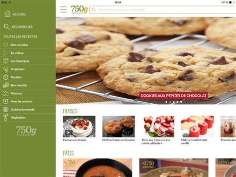 application recette cuisine application de recettes de cuisine laquelle choisir
