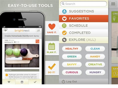 iphone cleaning app home maintenance by brightnest home organization