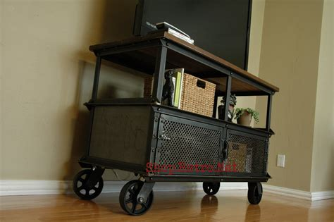 vintage media stand ellis design gallery vintage industrial furniture 3246