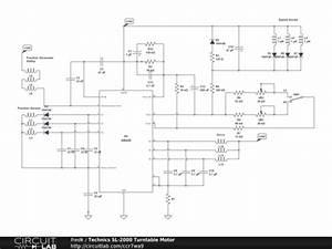 Technics Sl-2000 Turntable Motor