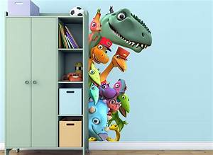 Wall decal awesome dinosaur train wall decals dinosaur for Awesome dinosaur train wall decals