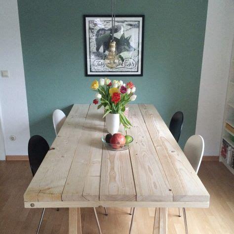 coole len wohnzimmer diy projekt ein tisch aus baudielen wohnung baudielen tisch und tisch bauen