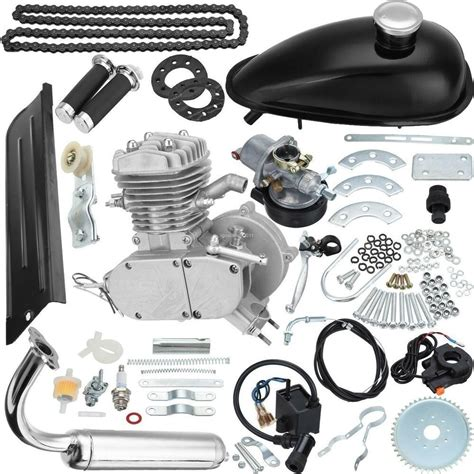 Upgraded 2-Stroke 80cc MOTOR ENGINE KIT FOR GAS MOTORIZED ...
