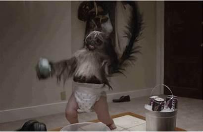 Monkey Puppy Super Commercial Bowl Dew Dance