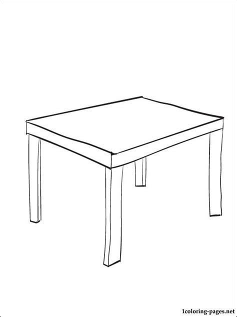 coloring page table coloring pages