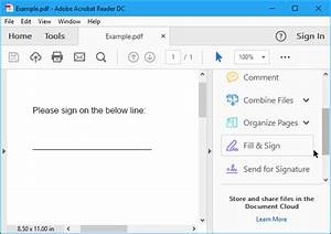 how to electronically sign pdf documents without printing With signature on pdf documents