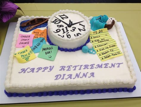retirement cake ideas retirement cake roxye s cakes cakes