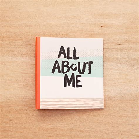 all about me all about me 6x8 scrapbooking album project becky higgins