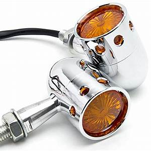 Best 53 Chrome Motorcycle Turn Signals
