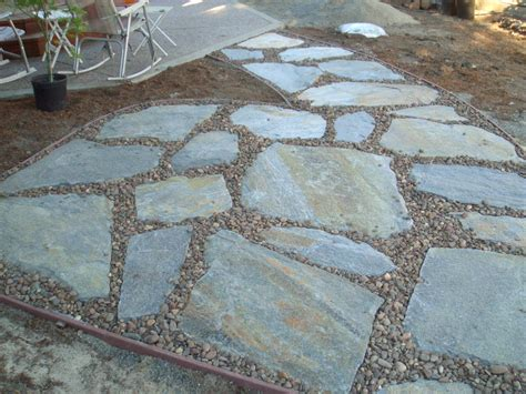 flagstone installation concrete download installing flagstone with concrete filecloudpeer