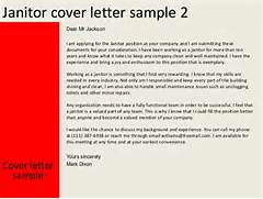 Janitor Cover Letter Letter Of Recommendation Introduction Best Template Janitor Cover Letter Sample Cleaning Professionals Cover Letter Examples Maintenance