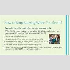 Stop Bullying Campaign
