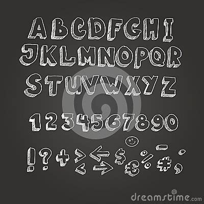 blackboard with white letters chalk on blackboard style alphabet stock vector image 20621 | chalk blackboard style alphabet white letters 44987083