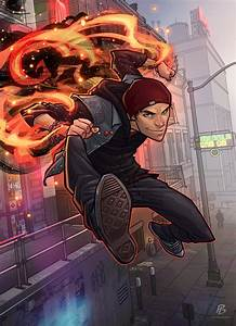 Infamous Second Son - Digital Art - Fribly