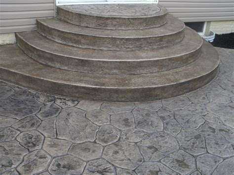 stone texture awesome stamped concrete patio design