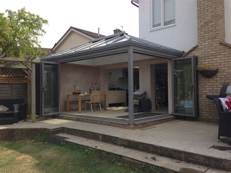 glass rooms extensions livin room style glass extension in long crendon crendon conservatories modern glass