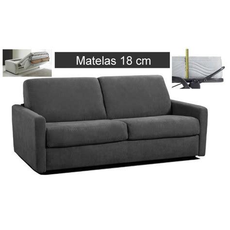 canapé lit matelas épais canape lit matelas epais maison design wiblia com