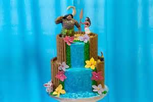 theme centerpiece gâteau vaiana moana cake fashioncooking
