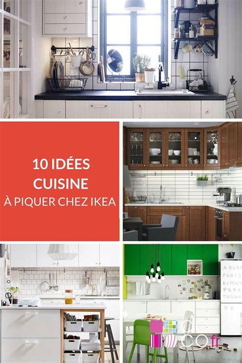 cuisine chez ikea petites cuisines les 10 idées à piquer chez ikéa http