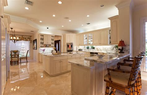 kitchen floors and countertops 30 open concept kitchens pictures of designs layouts 4869