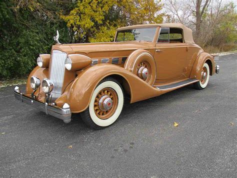 1936 Packard 1404 Super Eight Coupe Roadster for Sale
