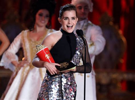 Emma Watson Makes History While Accepting First Ever