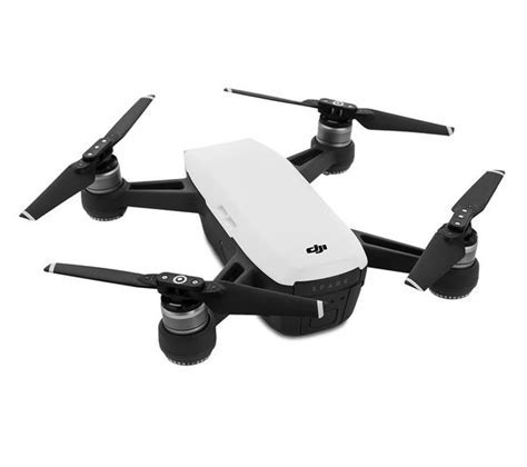 Buy DJI Spark Drone Fly More Combo   Alpine White   Free