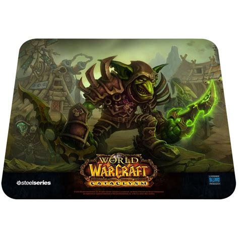 tapis de souris world of warcraft tapis de souris steelseries otakia