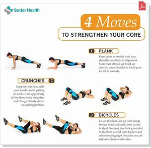 Core Workout Routine | Sutter Health