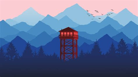 Watch Tower Minimal Hd Wallpapers