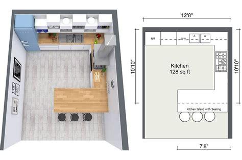 Kitchen Island Ideas For Small Kitchens - 4 expert kitchen design tips roomsketcher blog