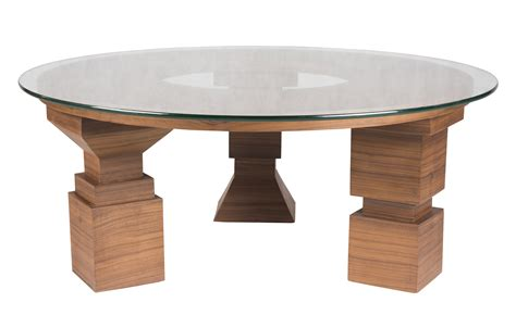 Build a round coffee table: Round coffee table with wooden base and glass top (With images) | Coffee table, Round coffee ...